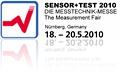 Sensor+Test 18th-20th May 2010, Nuremberg, Germany