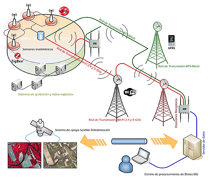Detecting Forest Fires using Wireless Sensor Networks with