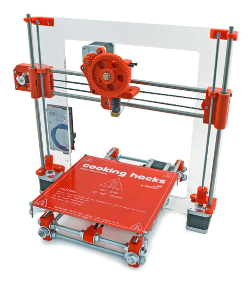 3d Printer Kit From Cooking Hacks Launches With Hands On