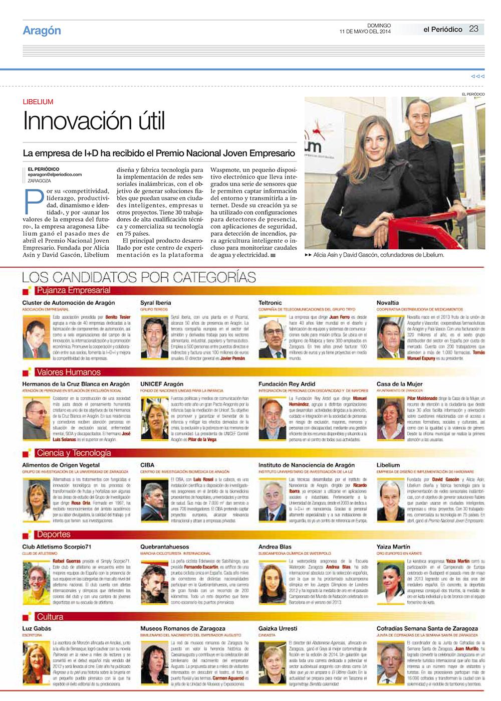 El Periódico de Aragón - Innovación útil