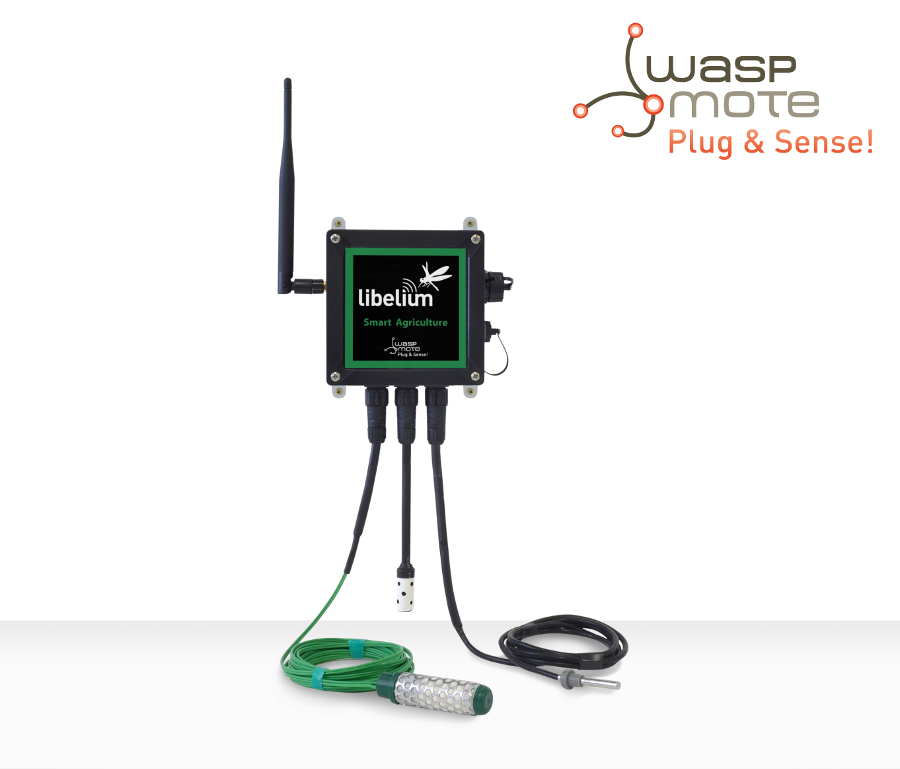 Waspmote Plug & Sense! Smart Agriculture model