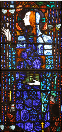 Saint Gobnait, the patron of beekeepers