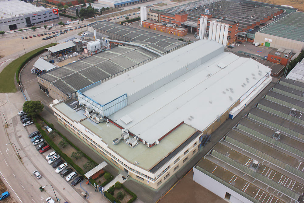 Polibol Zaragoza plant - Bird's-eye view