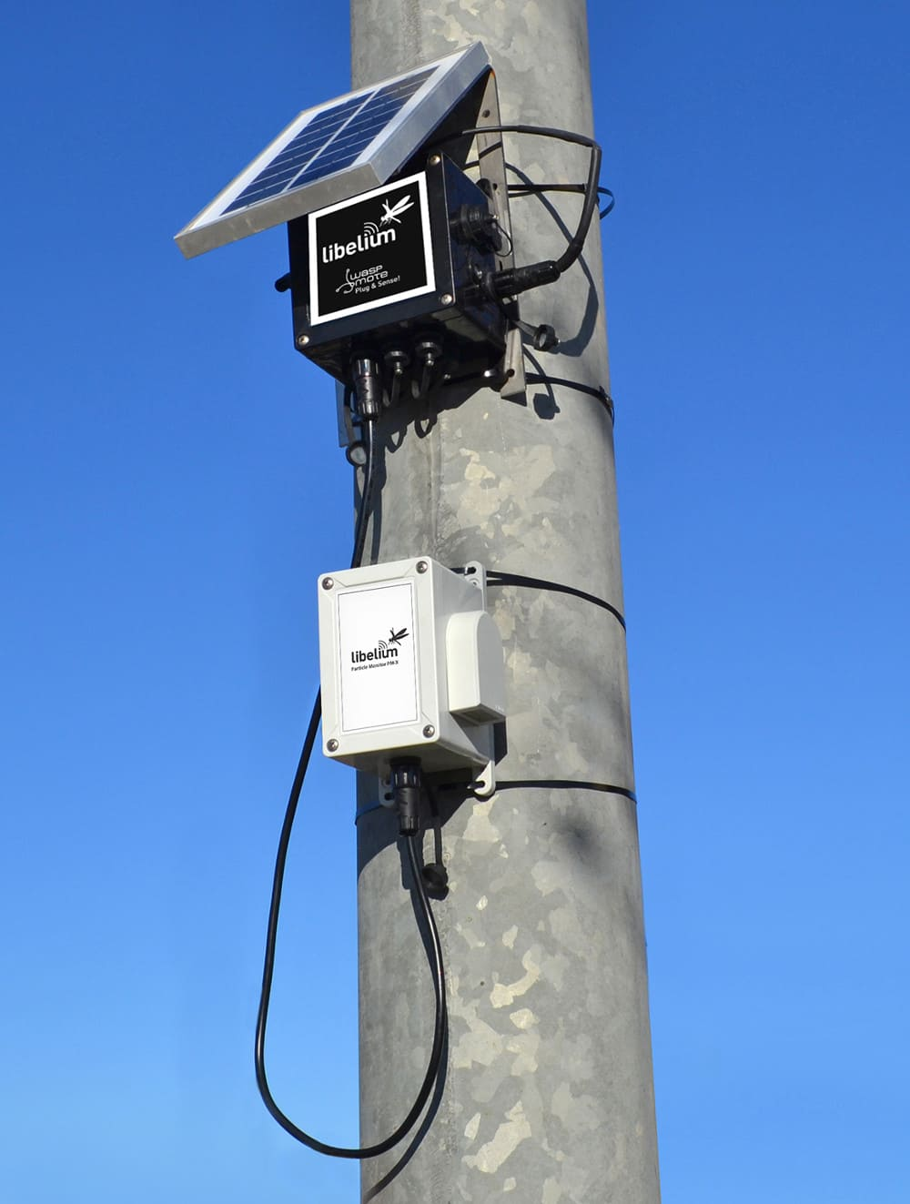 Plug & Sense! Smart Environment PRO with new particle matter - dust sensor (PM1 / PM2.5 / PM10)