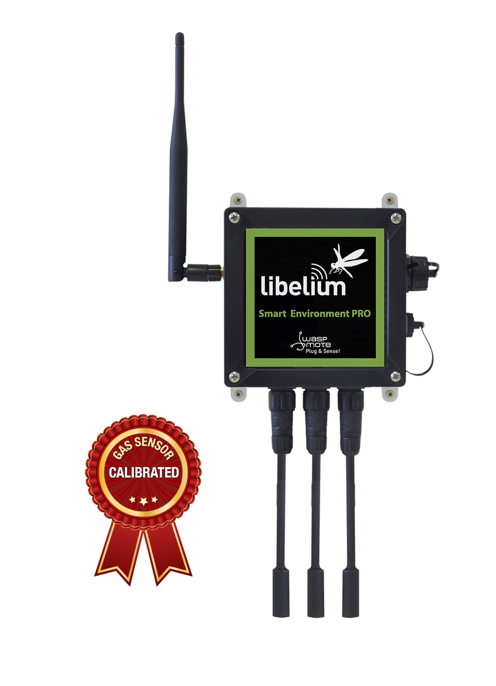 Libelium's new Smart Cities sensing solution, Plug & Sense! Smart Environment PRO