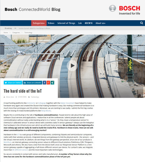 Blog.bosch-si.com - The hard side of the IoT