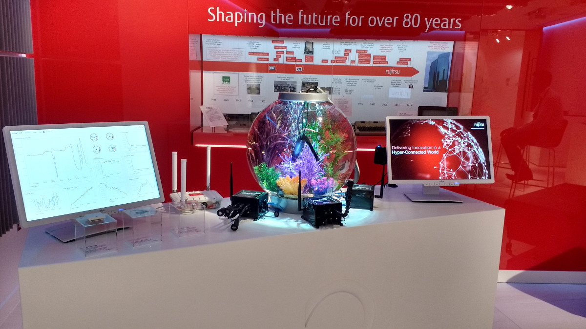 Plug & Sense! at the Fujitsu Innovation Centre