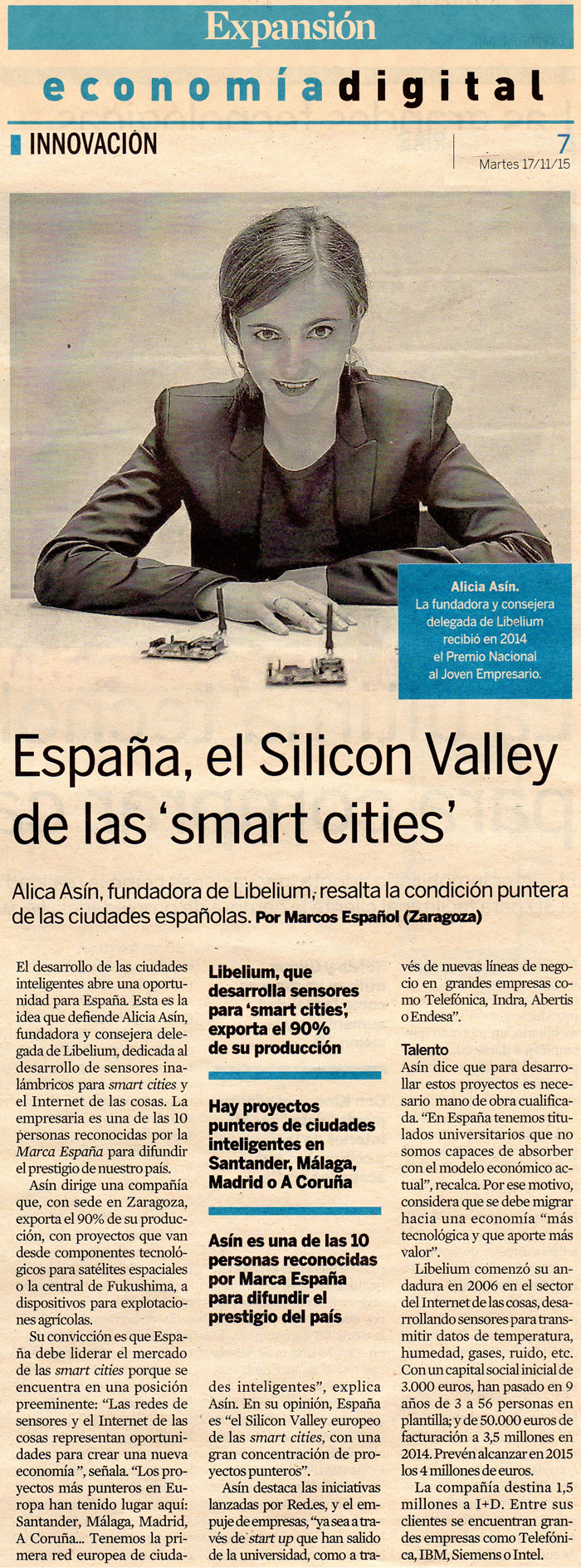 El Silicon Valley de las Smart Cities
