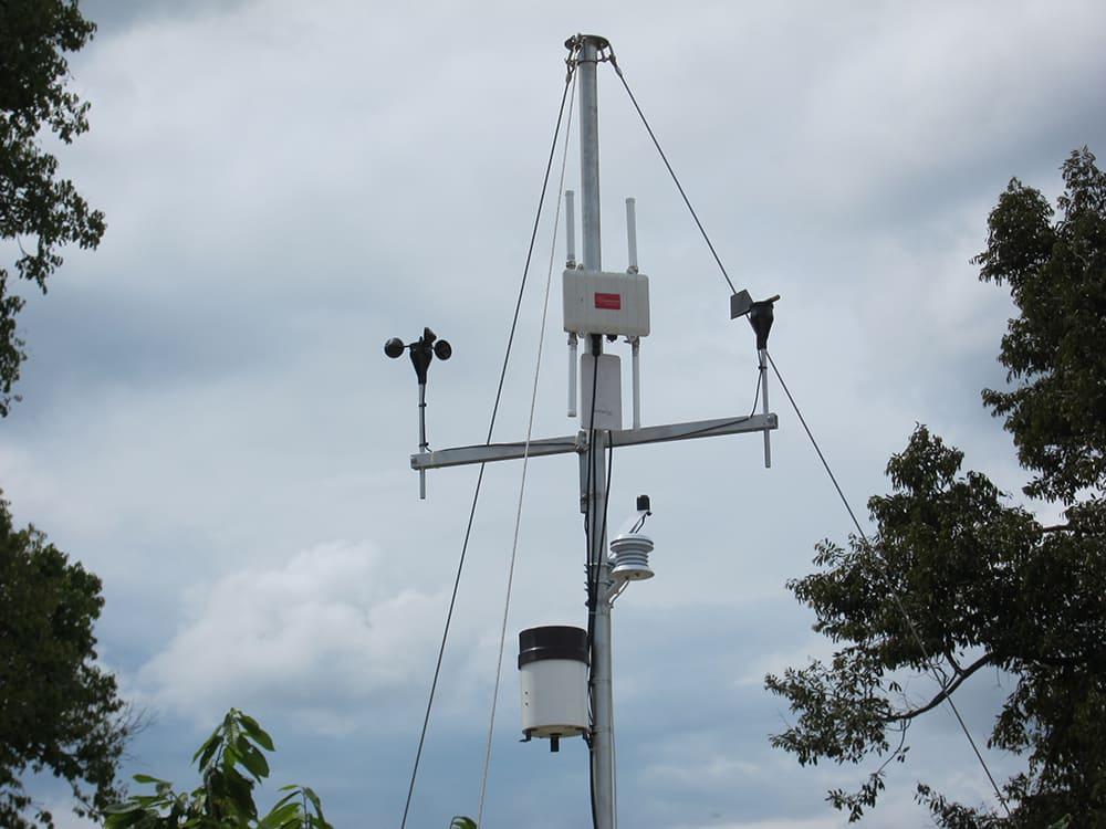 Meshlium and Weather Station