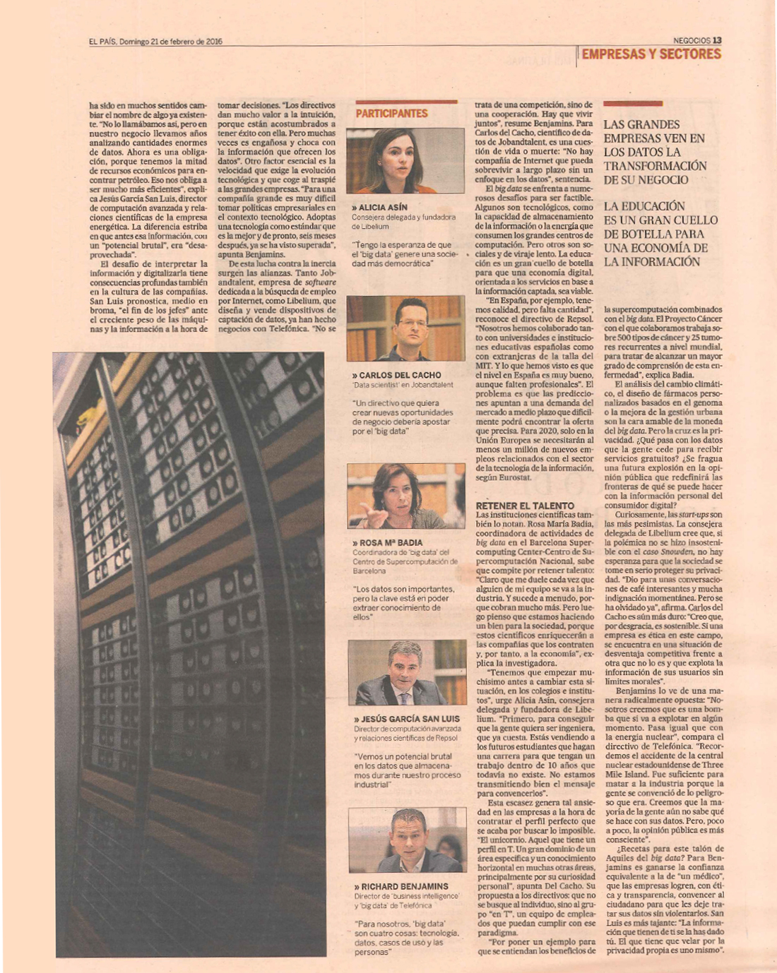 El País - El Pilar del Cambio Digita