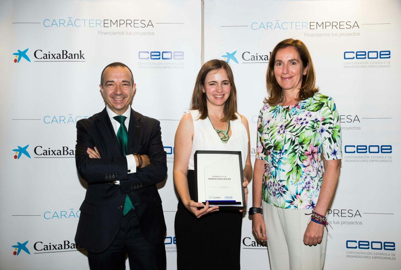 Libelium Premio Carácter Empresa 2016