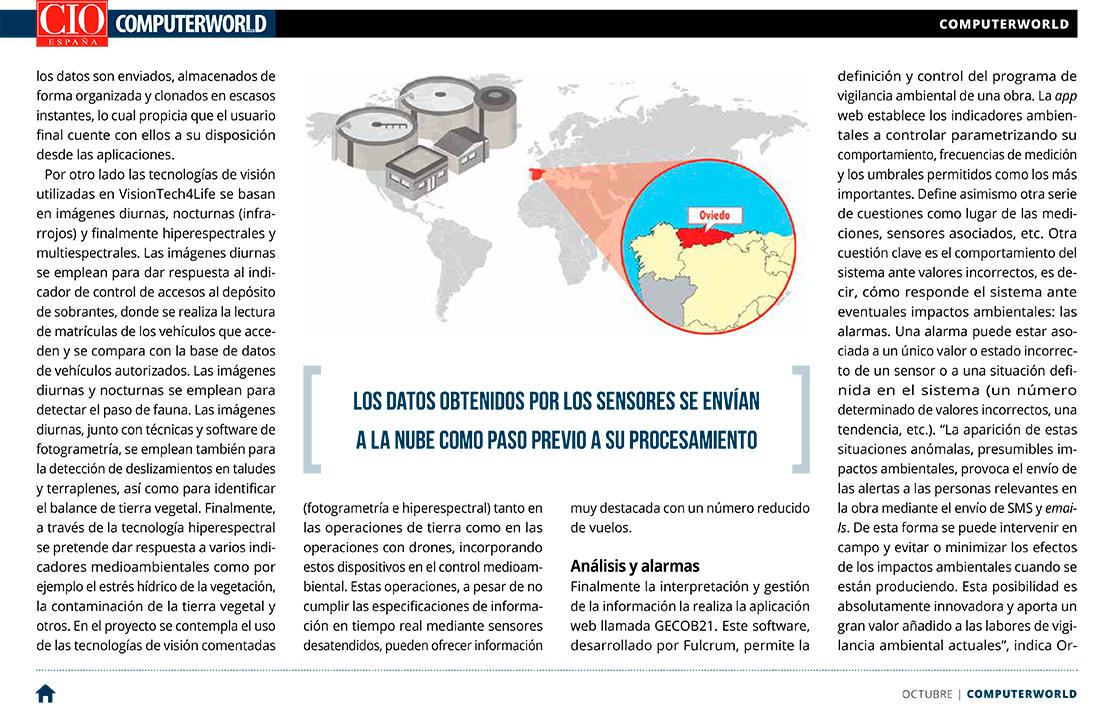 Computerworld – Control de impacto ambiental en obras civiles