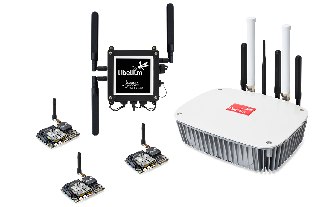 New generation of Libelium products: Waspmote OEM, Waspmote Plug & Sense! and Meshlium Gateway