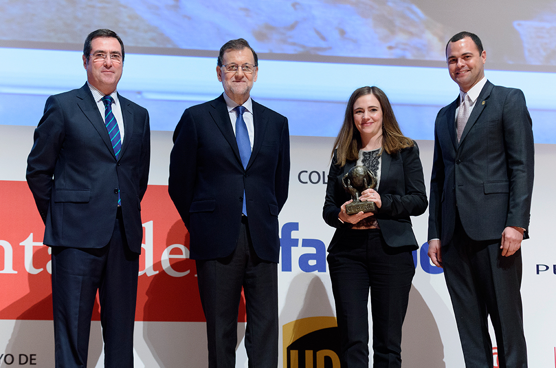 Alicia Asín received CEPYME 2016 Award at International Development category