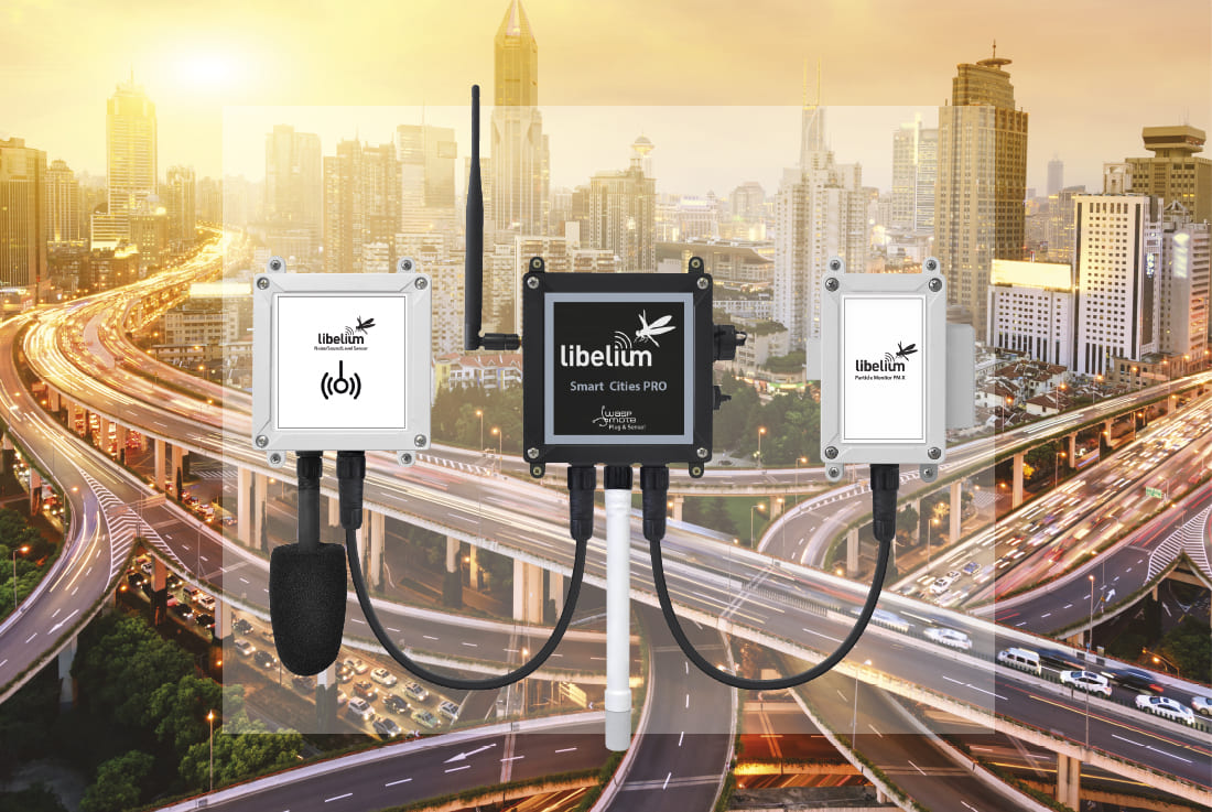 New IoT Smart Cities platform enhances accuracy in noise level and air quality pollution sensors