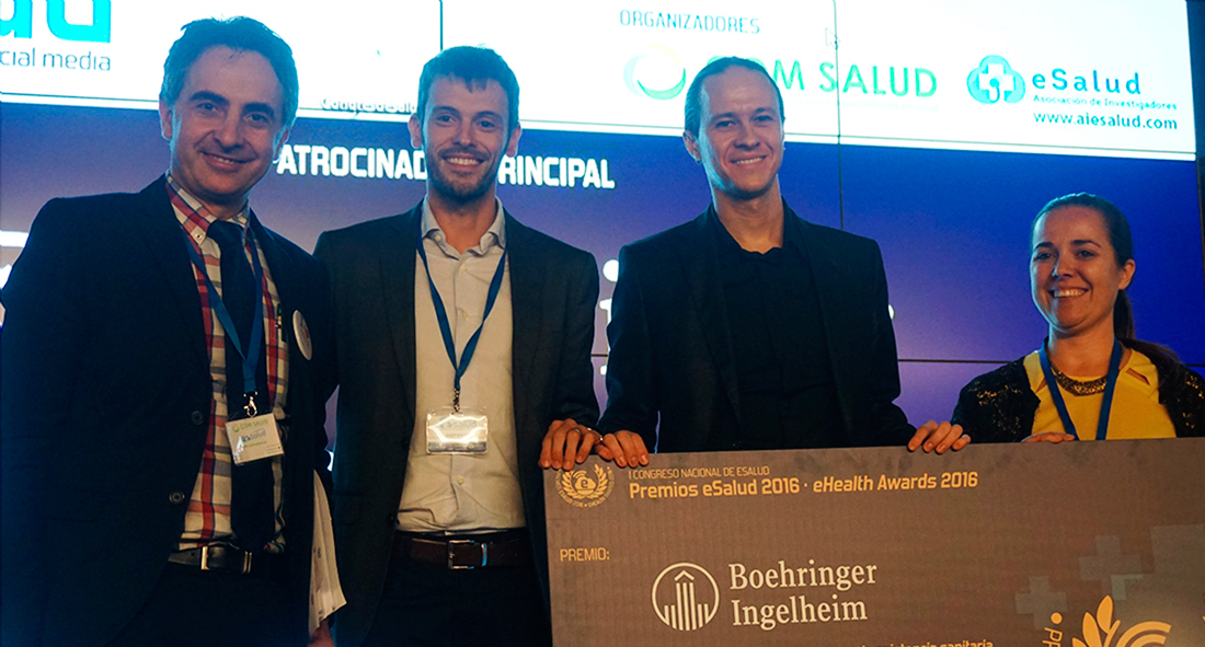 David Gascón receives eHealth Award 2016