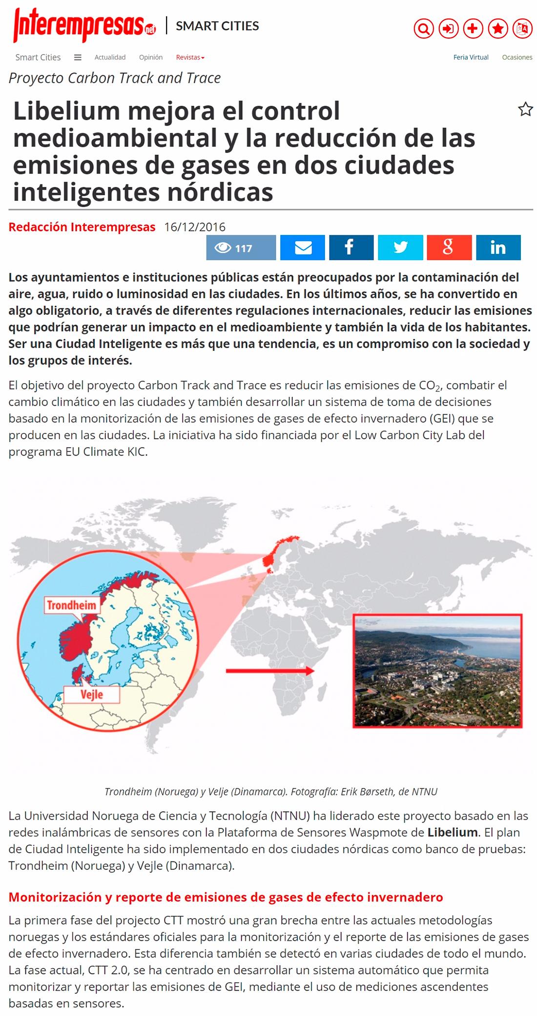 Interempresas – Caso de estudio ciudades nórdicas