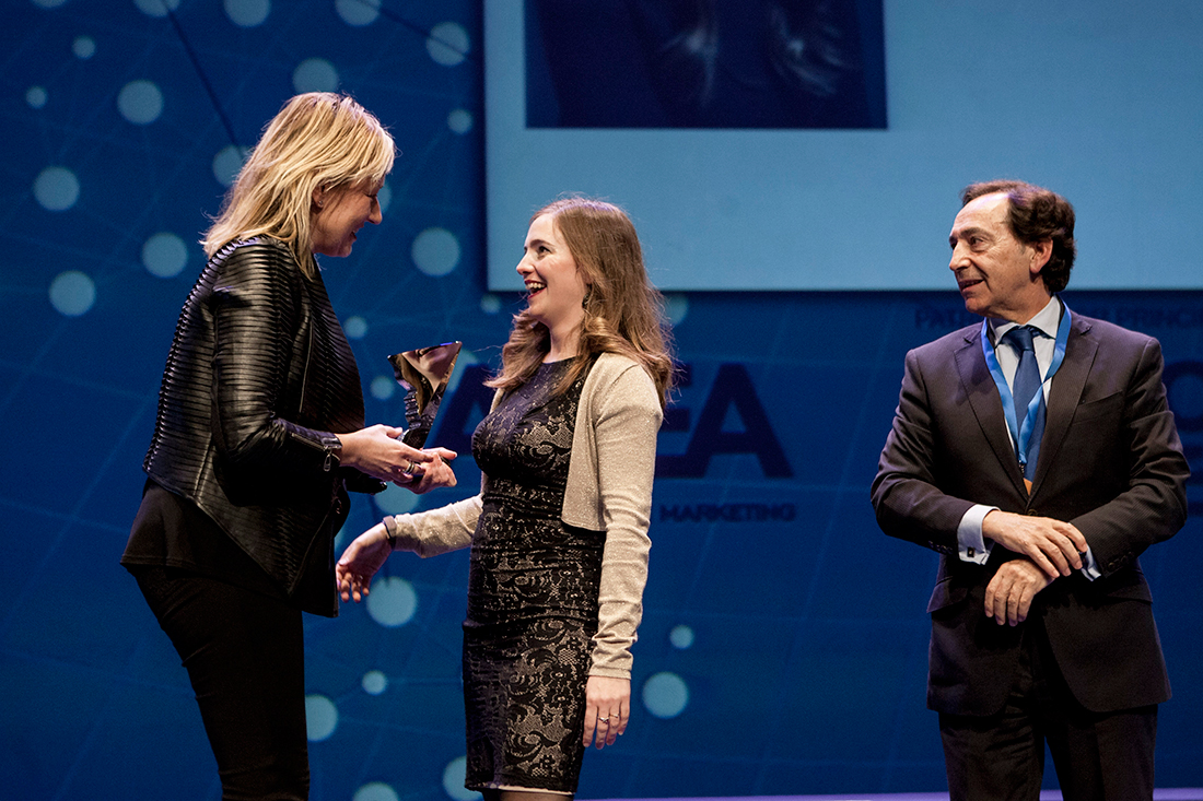 Alicia gets Best Manager of Aragon ADEA Awards