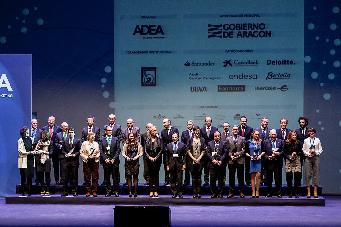 All the awarded in the eleven categories of ADEA Awards