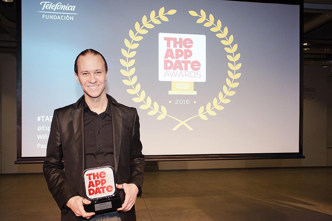 David Gascón received Innovation Project Prize at Tad Awards Gala
