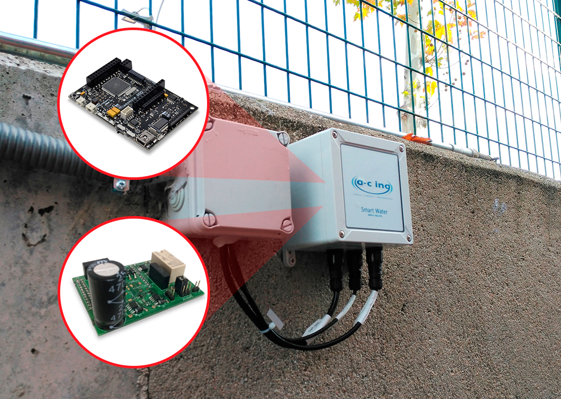 Smart water management system developed in a primary school in Madrid
