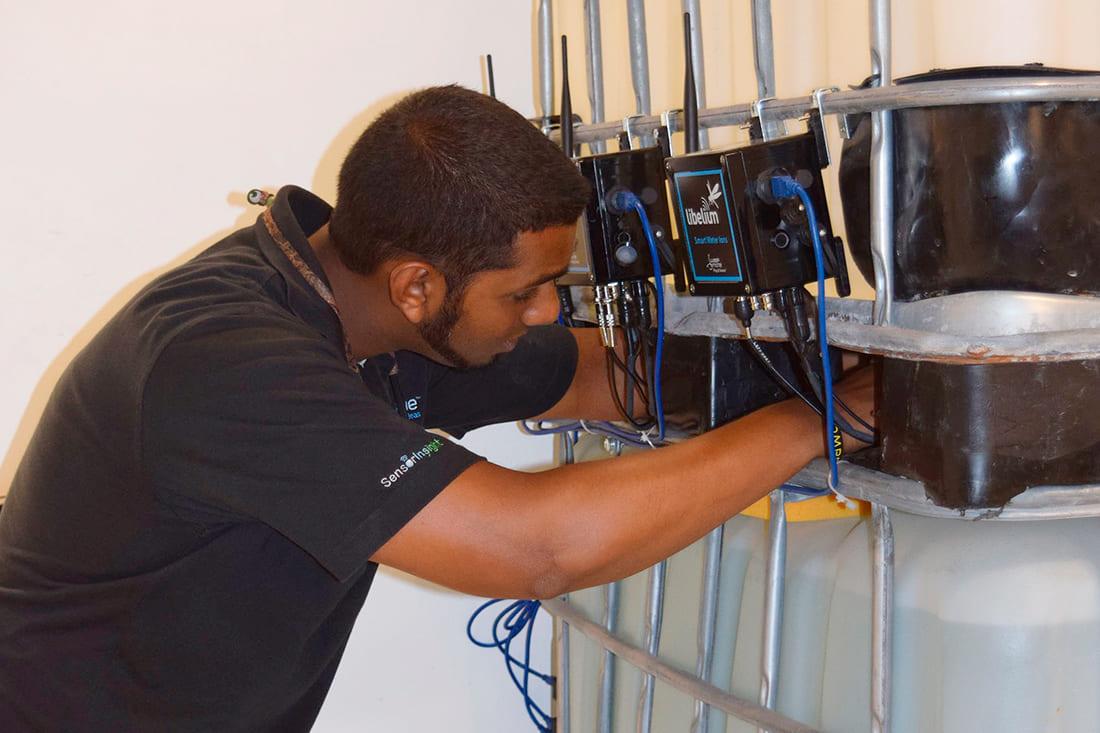 Waspmote Plug & Sense! Smart Water Ions in the water tanks
