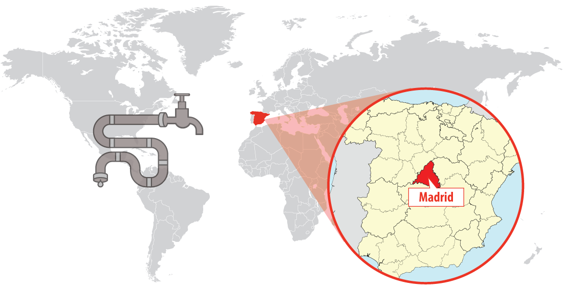 Saving water with smart management and efficient systems in Spain