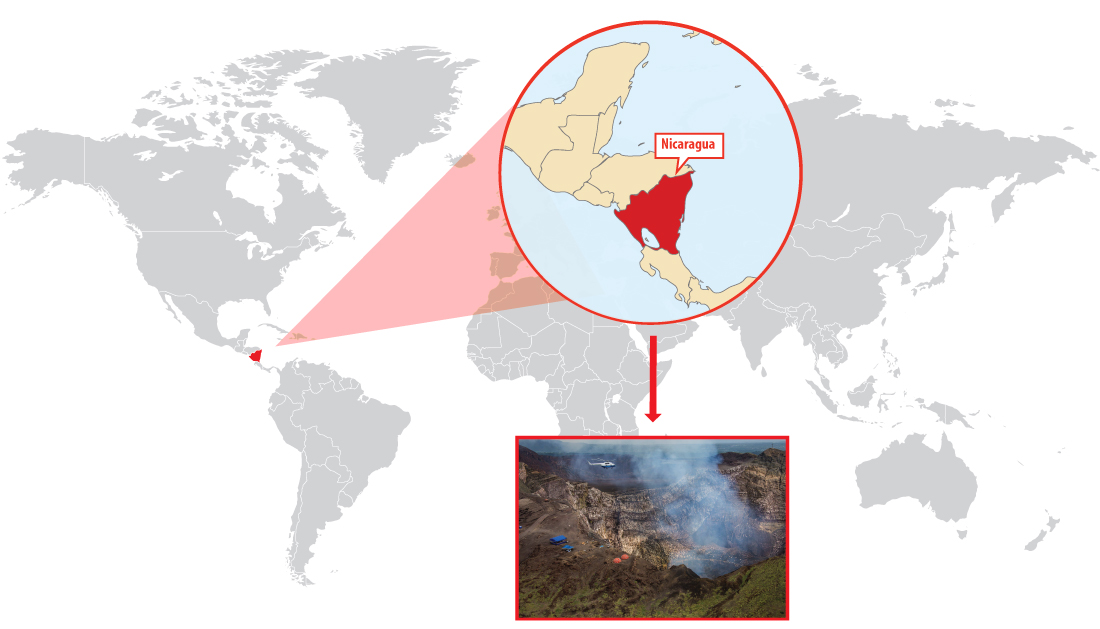 Predicting eruptions in the Masaya Volcano with wireless sensors