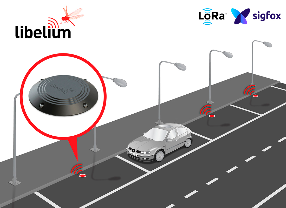 New Smart Parking includes Double Radio with LoRaWAN and Sigfox