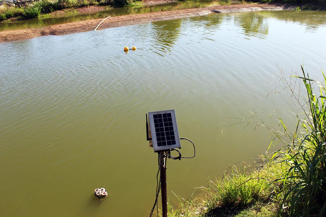 Waspmote Plug & Sense! Smart Water at the main water dam