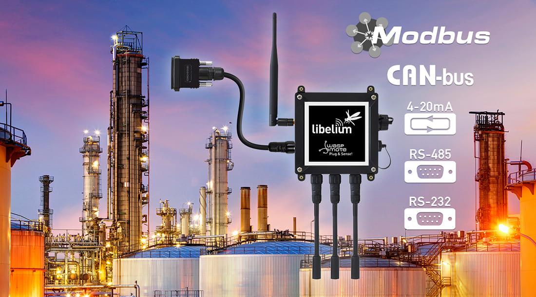 Waspmote Plug & Sense! Industrial Protocols