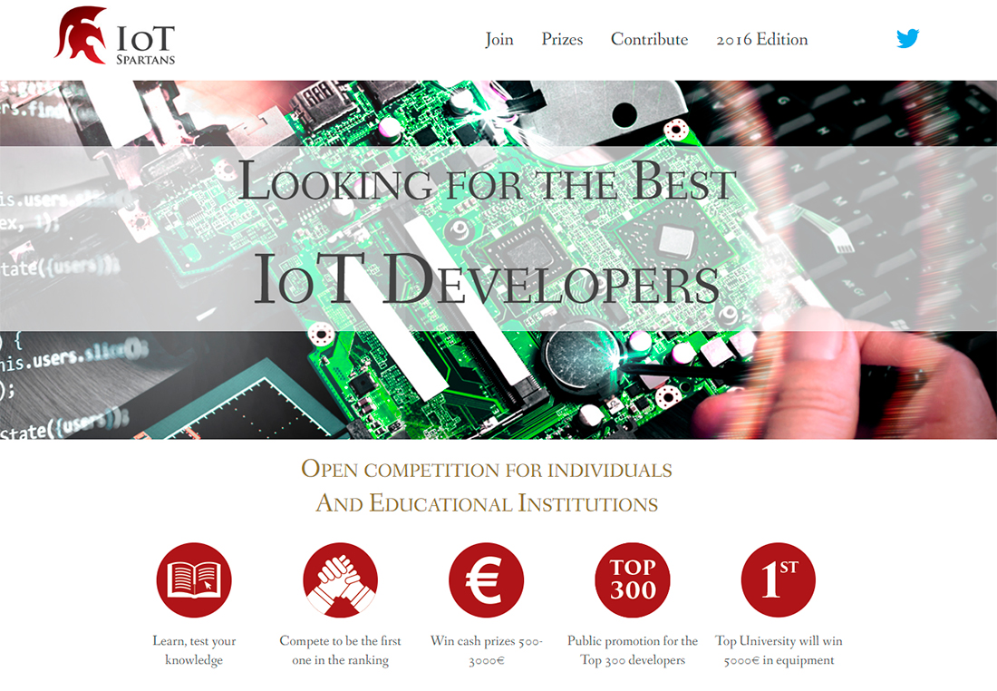 IoT Spartans Challenge second edition