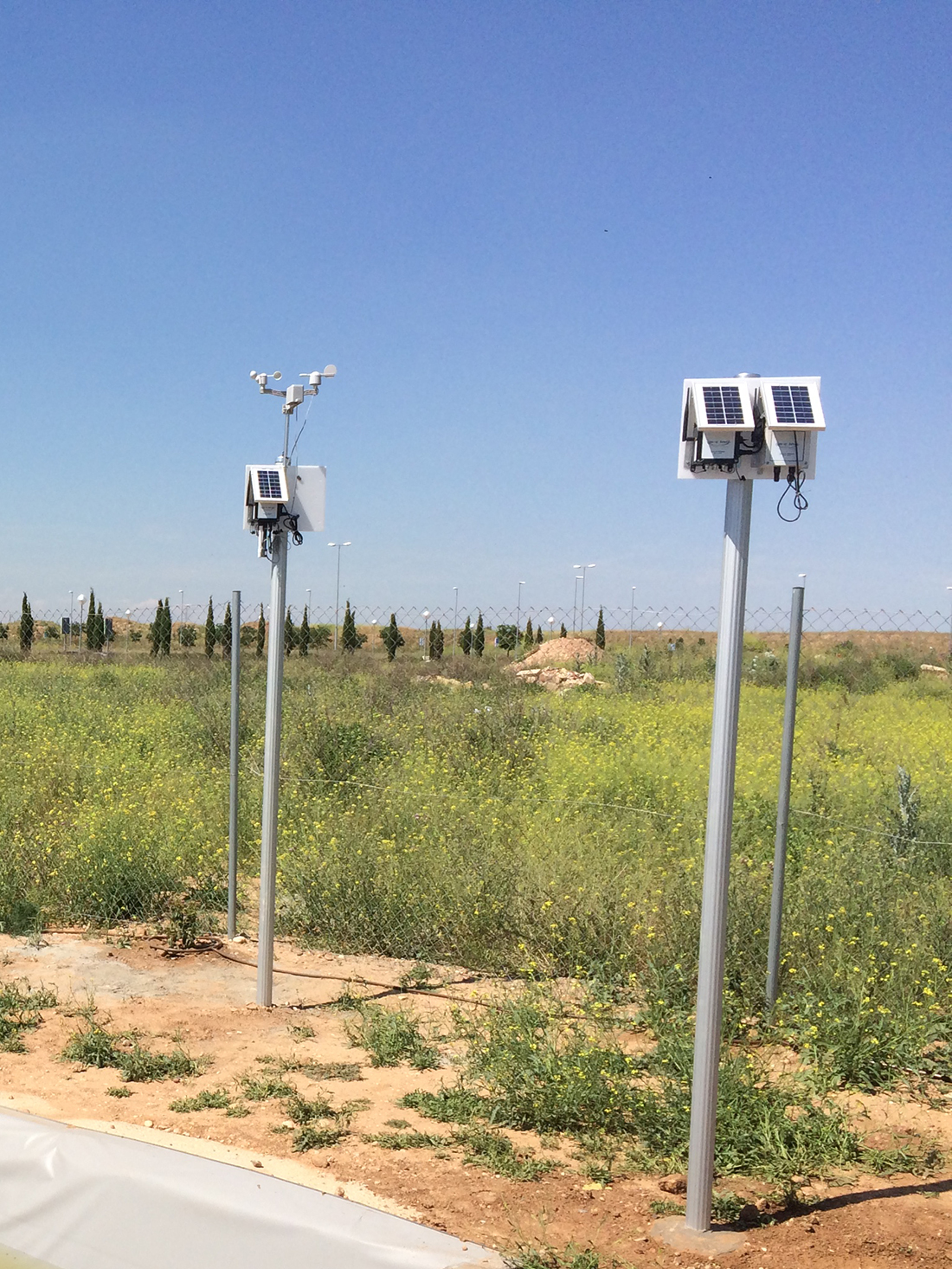 Waspmote Plug & Sense! Sensor Platforms at the wetland