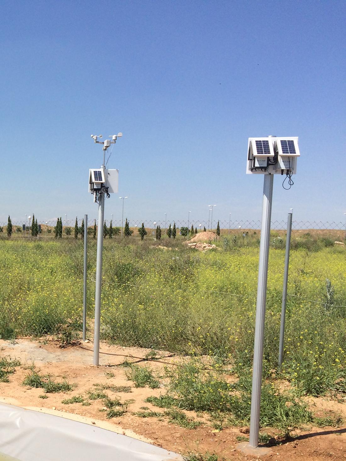 Waspmote Plug & Sense! Sensor Platforms at the wetland