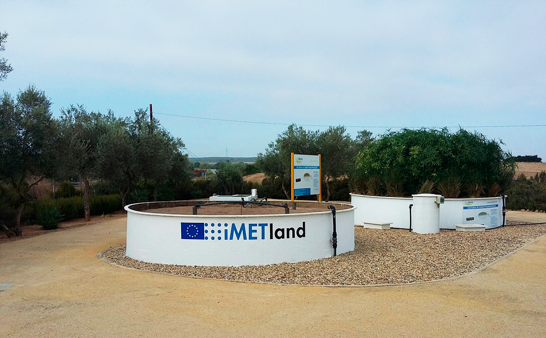 iMETland unit in Spain