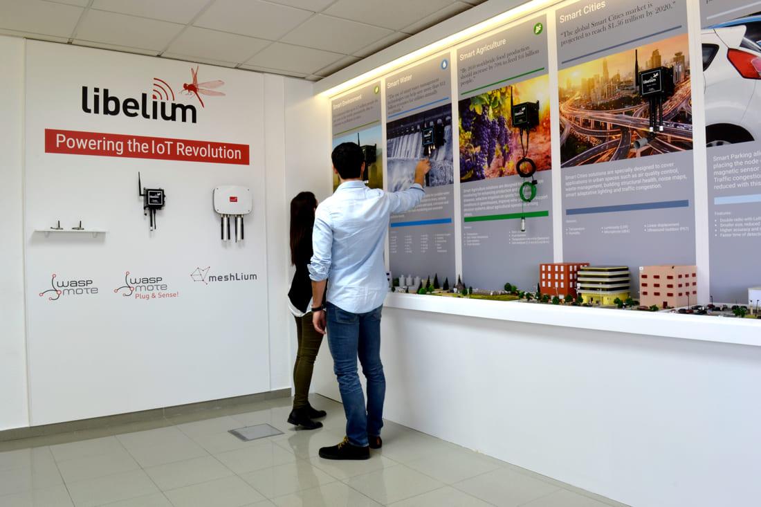Libelium product lines and main vertical sectors