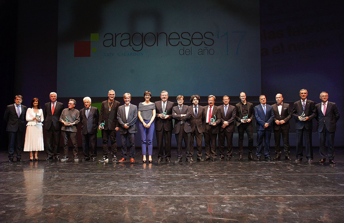 All the awarded by El Periódico de Aragón