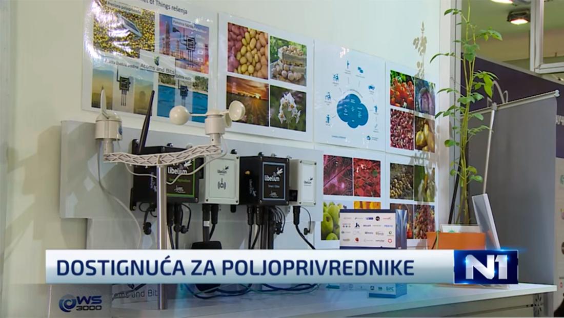 Libelium Waspmote Plug & Sense! Sensor Platforms in the technical fair