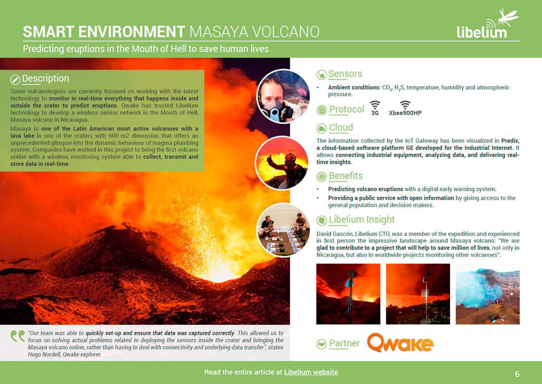 Smart Environment - Masaya volcano