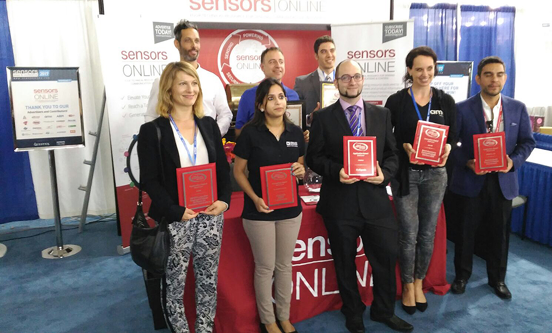 Winners of Best of Sensors Expo Awards 2017