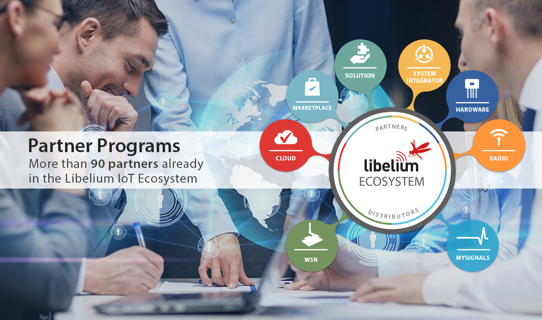 Libelium IoT Ecosystem with Partners Programs