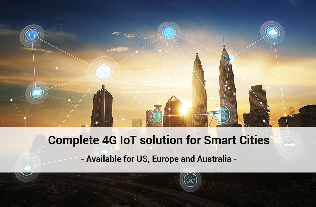 Libelium hits the Smart Cities market with a complete 4G IoT solution