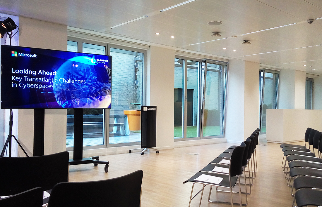 Microsoft's Executive Briefing Center in Brussels