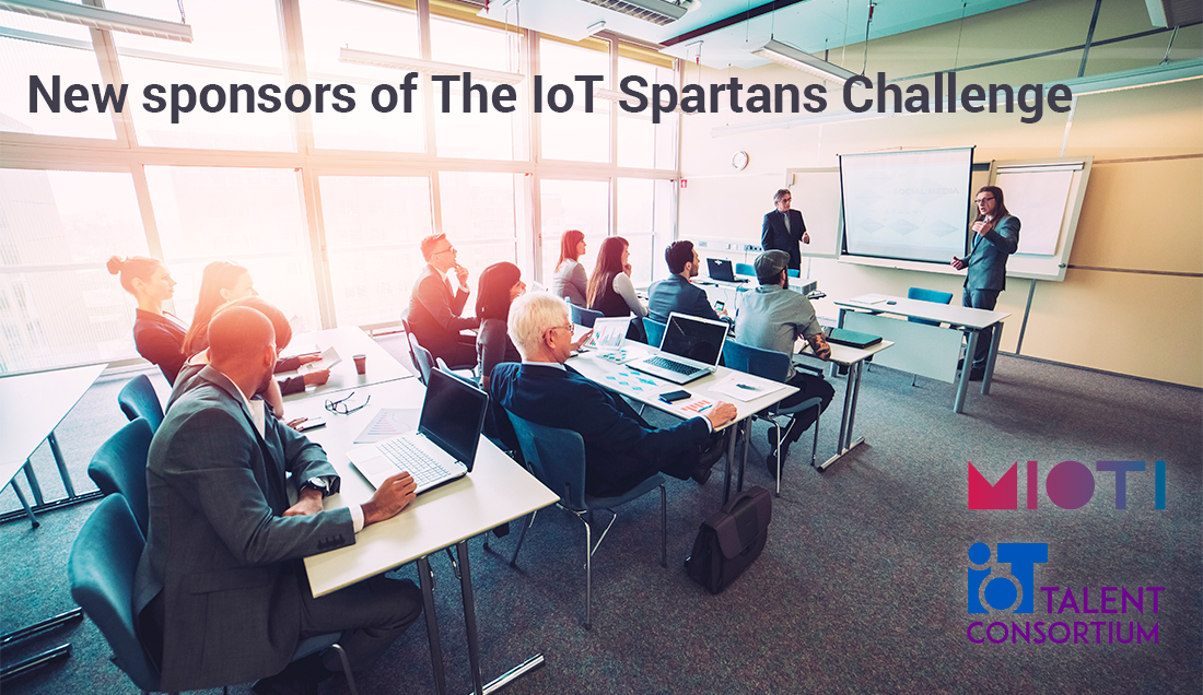 New sponsors of The IoT Spartans Challenge