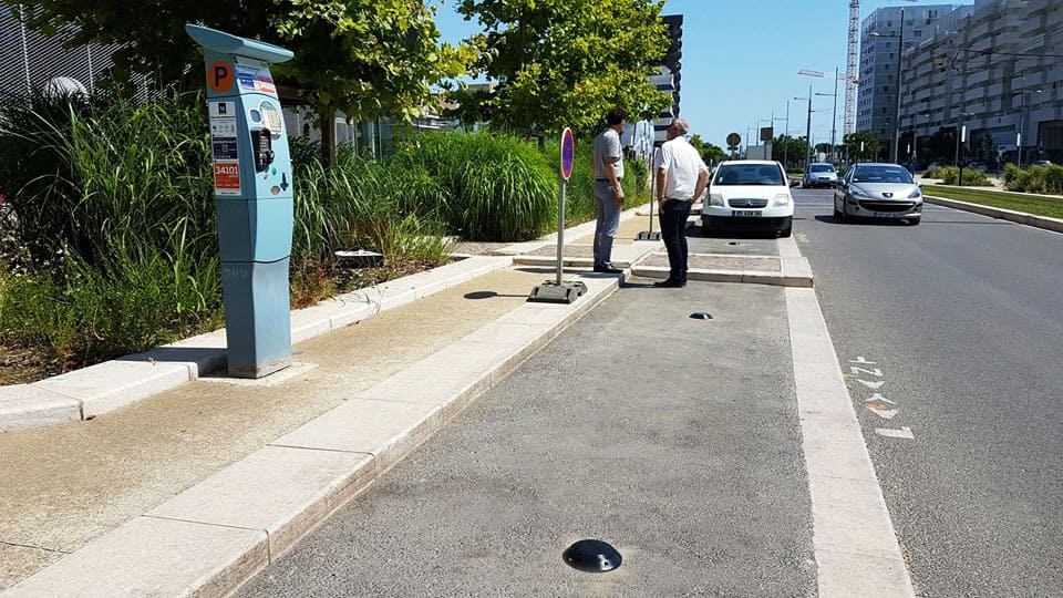 Connected Parking project at Montpellier