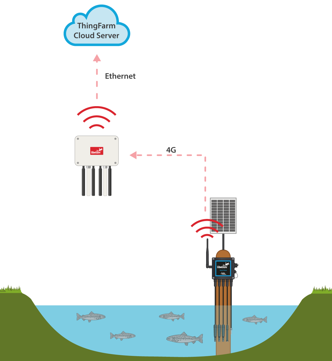 "Diagram of ""Connecting River"" Project"