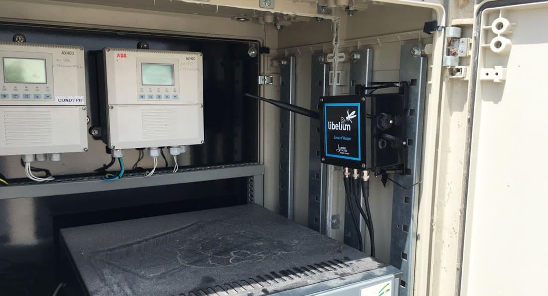 "Waspmote Plug & Sense! Smart Water at ""El Portal"" dam"