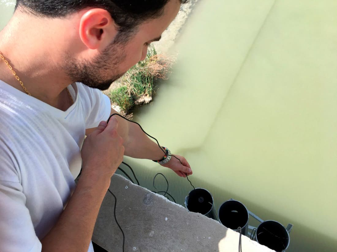Installation of the Waspmote Plug & Sense Smart Water sensors