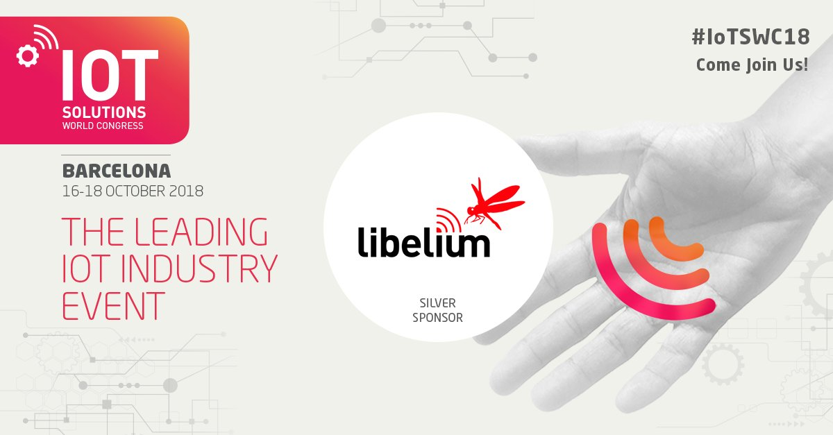 Libelium at IoT Solutions World Congress 2018