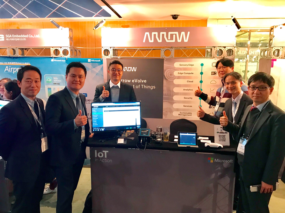 Arrow at Microsoft IoT in Action
